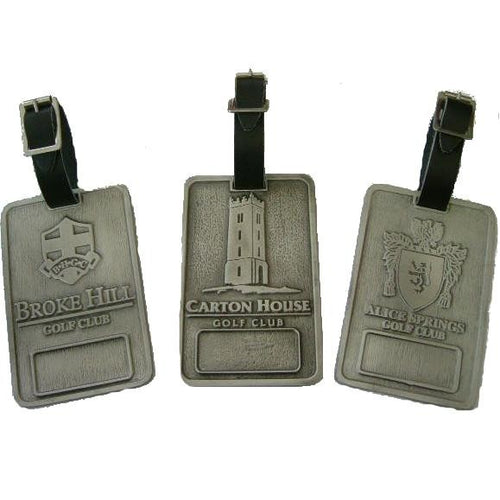 Pewter Bag Tag