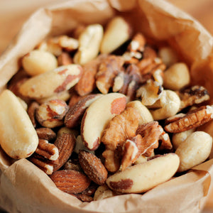 Mixed Nut Raw Organic B017
