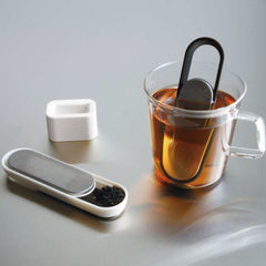 Kinto Loop Tea Strainer Black