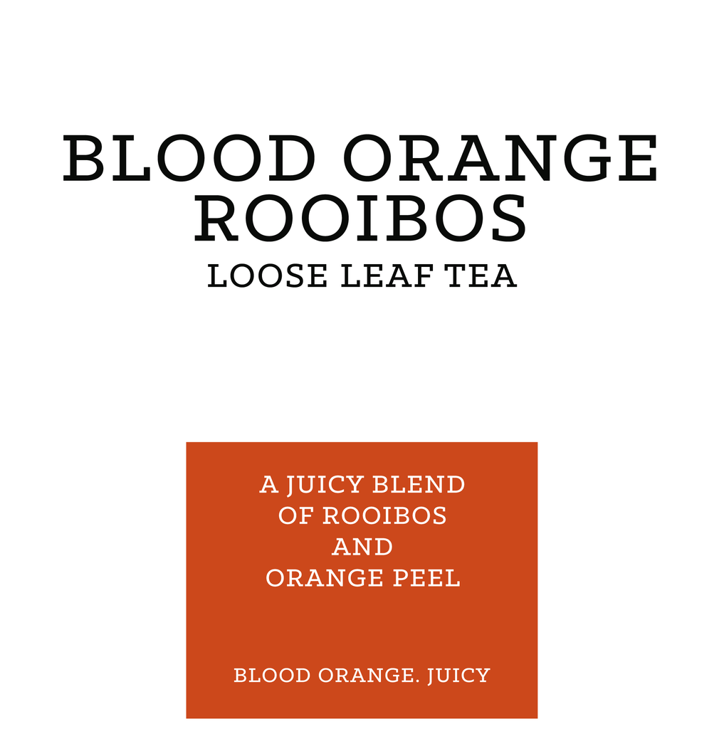 Blood Orange Flavoured Rooibos Retail 125g