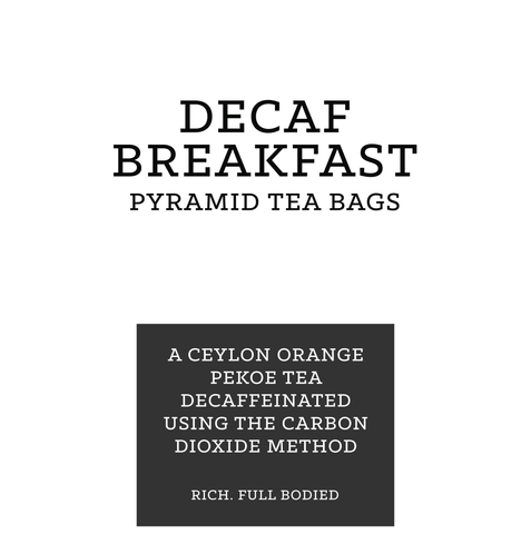 Decaf Pyramid Tea Bags (pk 15)