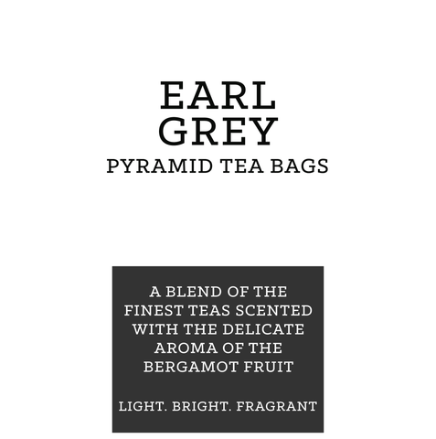 Earl Grey Pyramid Tea Bags (pk 15)