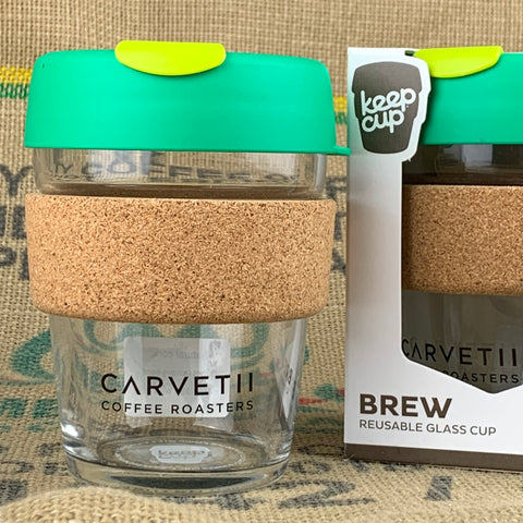 Carvetii Branded 12oz Brew Cork KeepCup Cryptonite