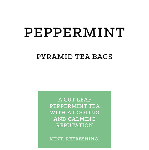 Peppermint Pyramid Tea Bags (pk 15)