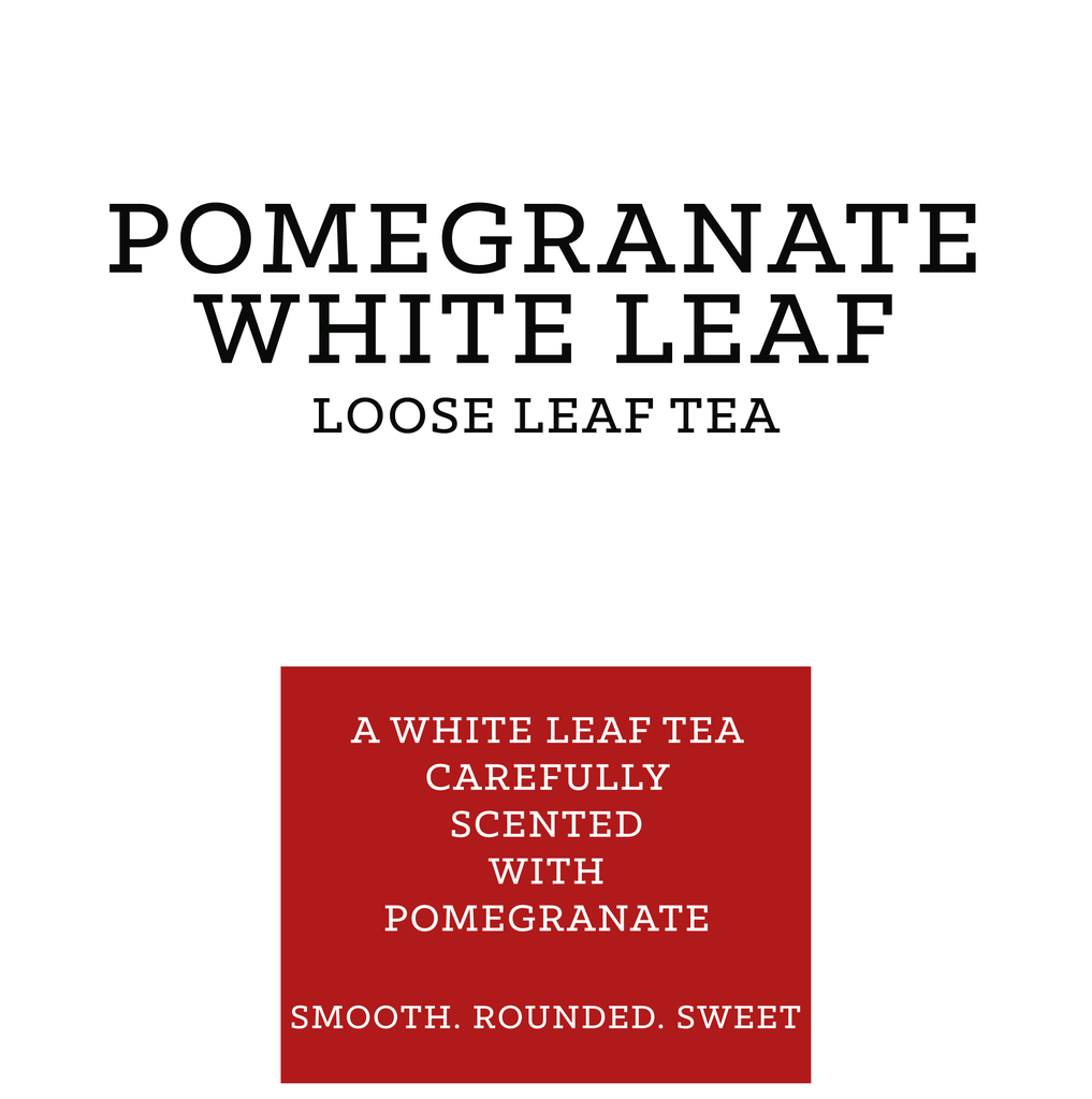 Pomegranate White Tea Retail 125g