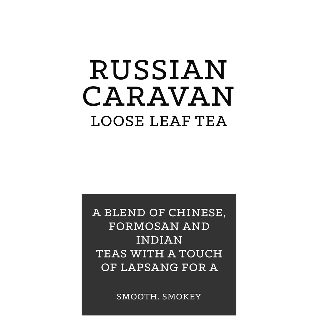 Russian Caravan Smokey Retail 125g