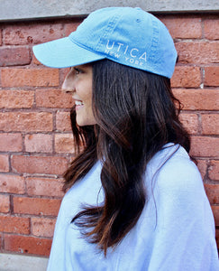 Utica Light Blue Hat