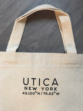 Load image into Gallery viewer, Utica Canvas Tote