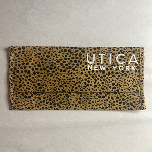 Utica Animal Print Mask