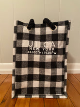 Load image into Gallery viewer, Black and White Checkered Drink bag (holds 4)