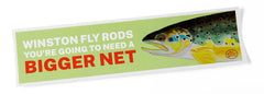 """Bigger Net"" Sticker - 11.5"" x 3.5"""