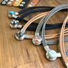 Interchangeable Stone Leather Necklace