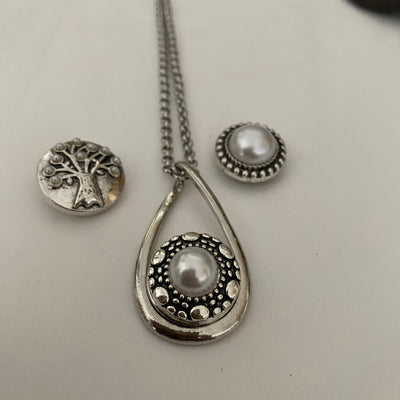 Teardrop Interchangeable pendant