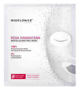 Rosa Damascena Biocellulose Peel Mask - Midflower