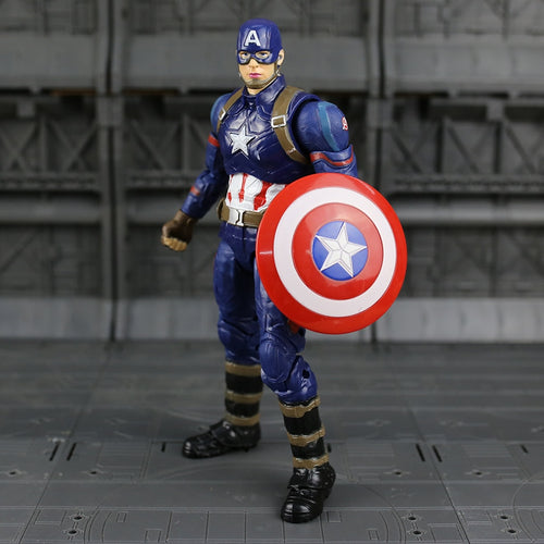 Action Figure da personagem Capitão América do Avengers EndGame