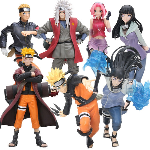 Action Figure dos personagens do anime Naruto
