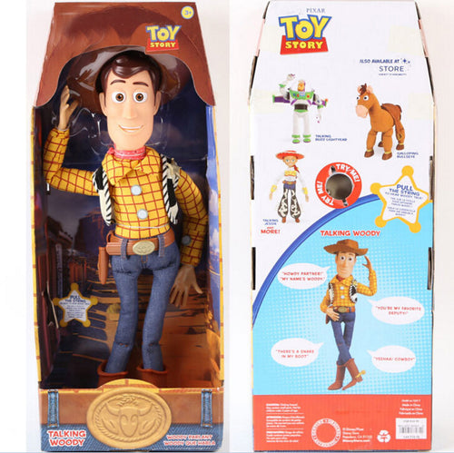 Action Figure do personagem Woody do Desenho Toy Story 3(Falante)