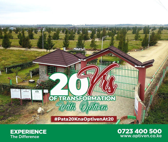 20 years of transformation With Optiven