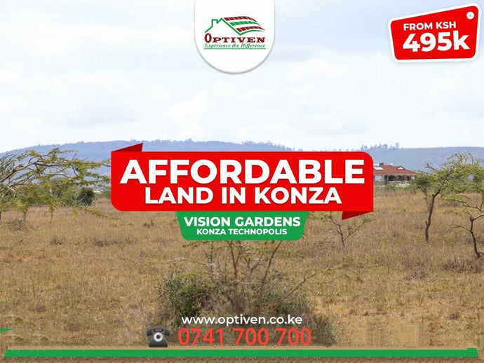 New Project Alert! Vision Gardens - Konza Technopolis.