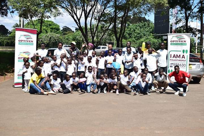 Optiven Foundation Christmas Treat to Soweto Children's Home