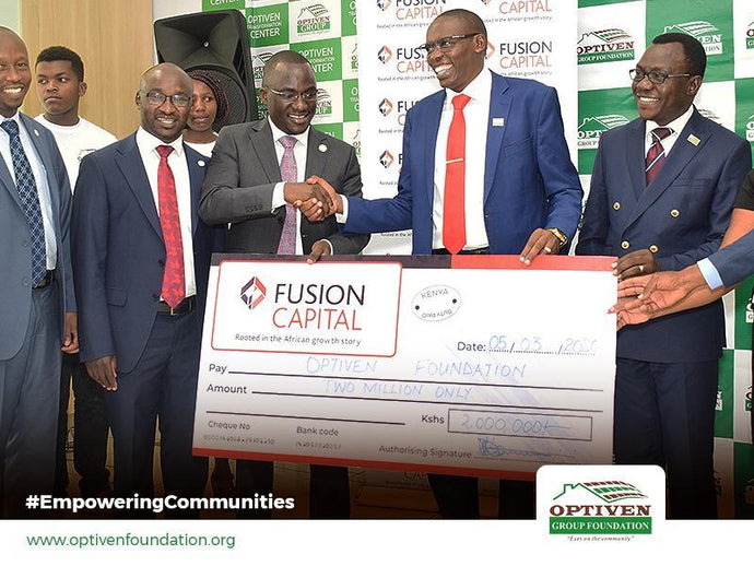 Optiven Foundation partners with Fusion Capital