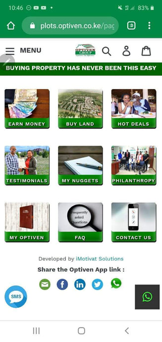 Stay Home. Be Safe and Earn with the Optiven App