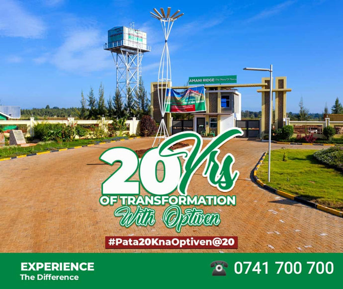 🎁 Twenty Years 🎁 of Transformation with Optiven