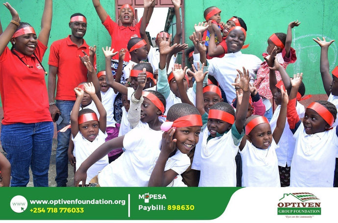 Valentines Treat by Optiven Foundation to Imani Children's home