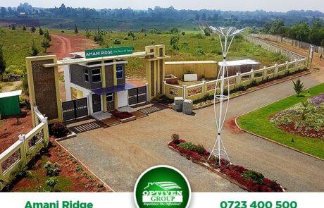 Amani Ridge - Ruiru, Kiambu county - Plot AR324, LR NO28800/566, Area(HA) 0.070 - OPTIVEN