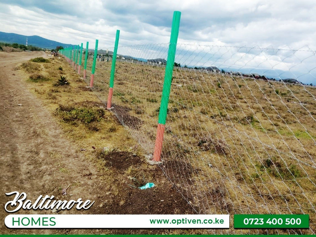 Baltimore homes - Nanyuki, Laikipia County - Plot 823, Area(HA) 0.2 (1/2 Acre) - OPTIVEN