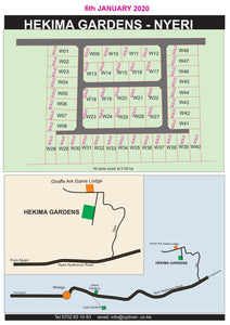 Hekima - Nyeri County - Plot W2-6, Area(HA) 0.09 (1/4 Acre) - OPTIVEN