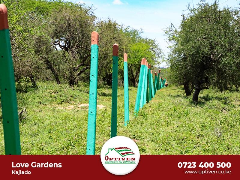 Love Gardens - Kajiado - Plot H223, Area(HA) 50x100 - OPTIVEN