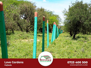 Love Gardens - Kajiado - Plot H415, Area(HA) 50x100 - OPTIVEN