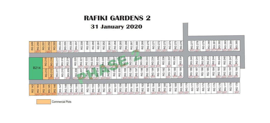 Rafiki Gardens Phase 2 - Kangundo Road, Machakos County - Plot B241, LR NO57954 Area(HA) 0.045 - OPTIVEN