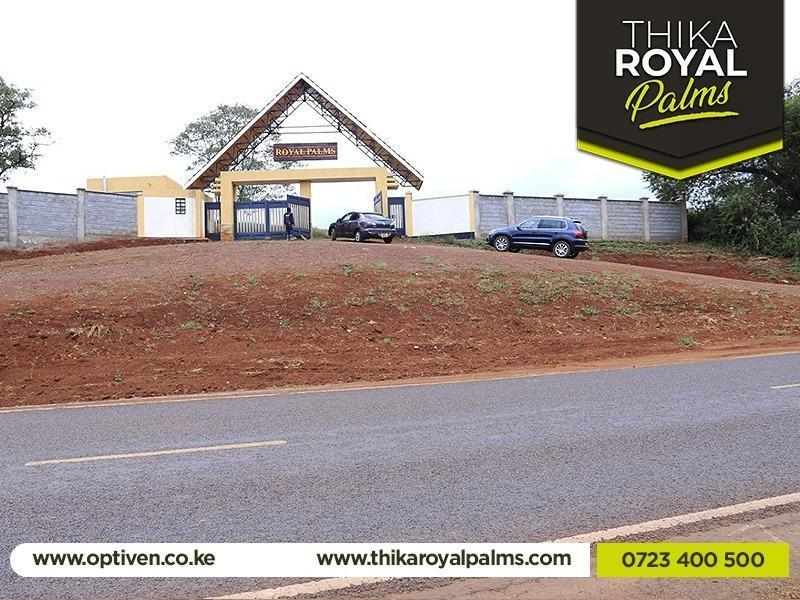 Thika Royal Palms - Gatanga , Muranga County - Plot TR7, Area(HA) 0.045 - OPTIVEN