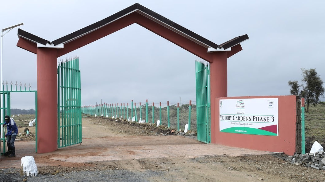 Victory Gardens Phase 3 - Kitengela, Kajiado County - Plot VP411, Area(HA) 0.045 - OPTIVEN