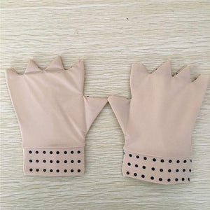 Magnetic Therapy Fingerless Gloves for Arthritis Pain Relief