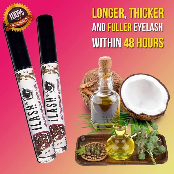 (BUY 1 FREE 1 TODAY) iLash - Longer, Thicker and Fuller within 48 hrs