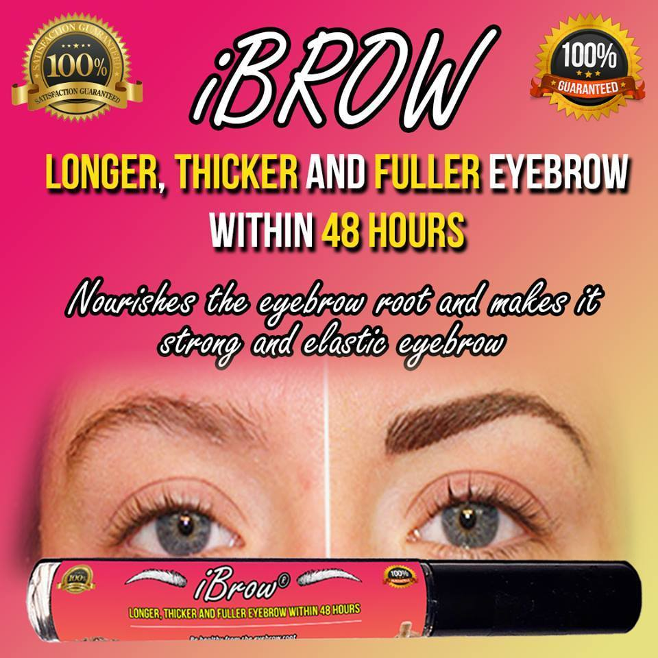 (BUY 1 FREE 1 TODAY) iBrow- Longer, Thicker and Fuller within 48 hrs