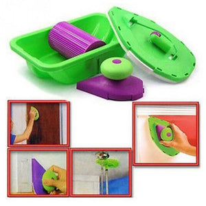 Easy Painting Roller/Pad and Sponge Set