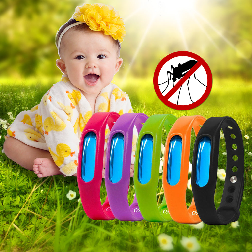 🦟Eco-Friendly Mosquito Repellent Bracelet 🦟🦟🦟 FREE 3 REFILLABLE CAPSULES!