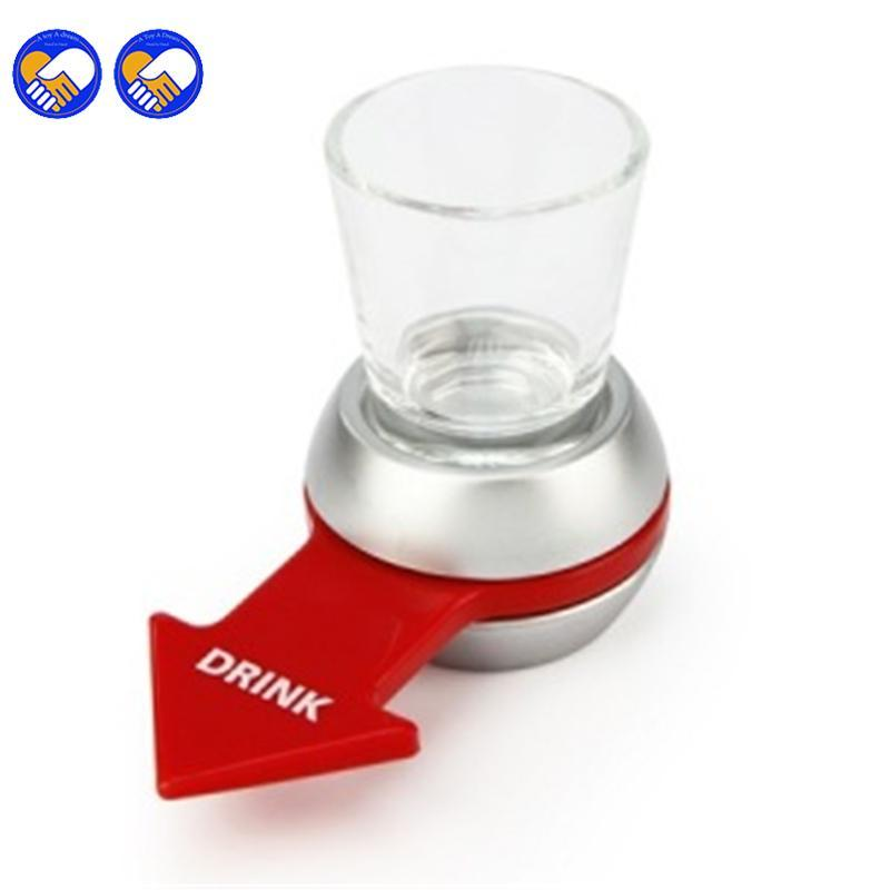 Spin The Shot Glass Drinking Game