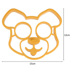 Dog Shaped Silicone Omelette Mould