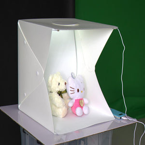 Mini Led Light Photo Studio