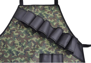 Multi Pockets BBQ Camouflage Apron
