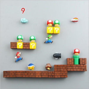 Fridge Magnets Super Mario
