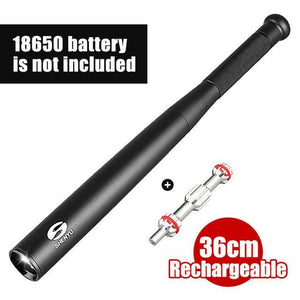 Tact Baseball Bat Flashlight - 2000 Lumens