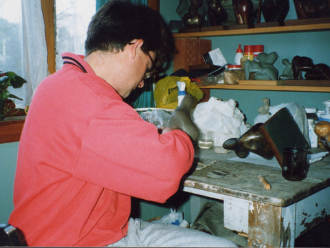 1992 Stephen Williams in his studio