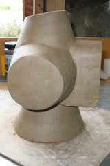Clay sculpture showing issue with beam section. Stephen Williams