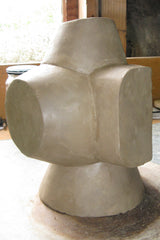 Clay sculpture after addressing issue with beam section. Stephen Williams